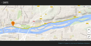 Parcours 4 – 10.14 kms (Aller & Retour) - 1ère sprtie 'Paul Bert Running'